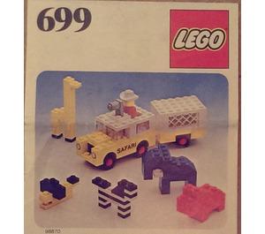LEGO Photo Safari Set 699-1 Instructions