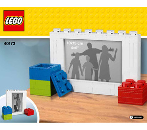 LEGO Picture Frame Set 40173 Instructions