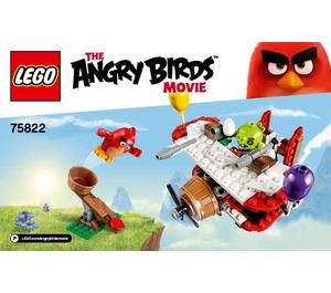 LEGO Piggy Plane Attack Set 75822 Instructions