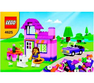 LEGO Pink Brick Box Set 4625 Instructions
