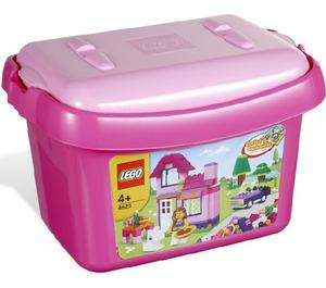 LEGO Pink Brick Box Set 4625 Packaging