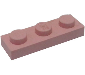 LEGO Pink Plate 1 x 3 (3623)