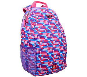 LEGO Pink Purple Brick Print Heritage Backpack (5005351)
