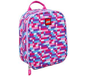 LEGO Pink Purple Brick Print Lunch Bag (5005354)