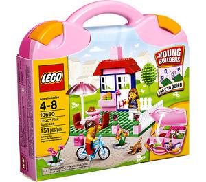 LEGO Pink Suitcase Set 10660 Packaging