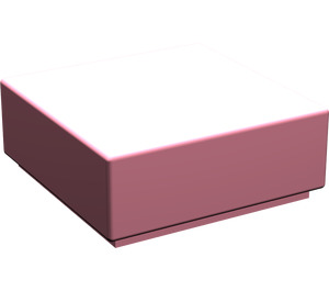 LEGO Pink Tile 1 x 1 with Groove (3070)