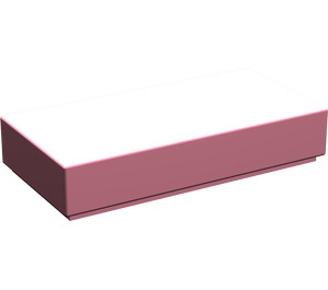 LEGO Pink Tile 1 x 2 with Groove (3069)