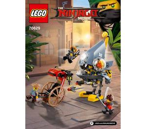 LEGO Piranha Attack Set 70629 Instructions