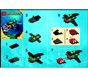 LEGO Piranha Set 30041 Instructions