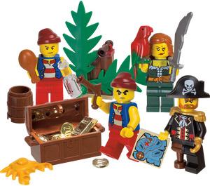 LEGO Pirate minifigure pack (850839)