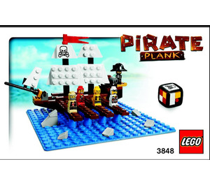 LEGO Pirate Plank (3848) Instructions