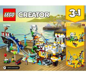 LEGO Pirate Roller Coaster Set 31084 Instructions