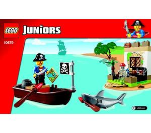 LEGO Pirate Treasure Hunt Set 10679 Instructions