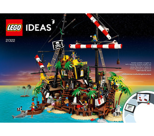 LEGO Pirates of Barracuda Bay Set 21322 Instructions