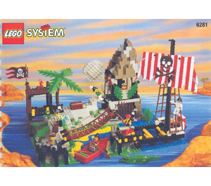 LEGO Pirates Perilous Pitfall Set 6281