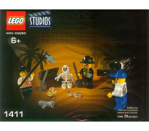 LEGO Pirates Treasure Hunt Set 1411