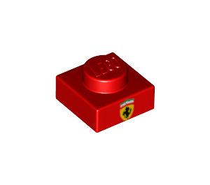 LEGO Plate 1 x 1 with Ferrari Logo (3024 / 49115)