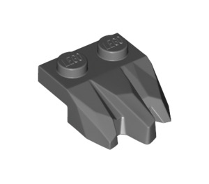 LEGO Plate 1 x 2 with Carved Rock (27261)
