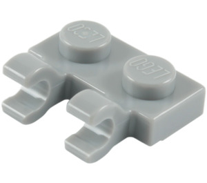 LEGO Plate 1 x 2 with Horizontal Clips (Open 'O' Clips) (49563 / 60470)