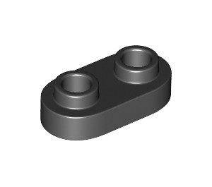 LEGO Plate 1 x 2 with Rounded Ends and Open Studs (35480)