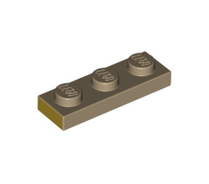 LEGO Plate 1 x 3 with Decoration (3623 / 69174)