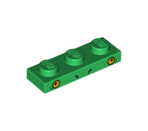 LEGO Plate 1 x 3 with Decoration (38922)