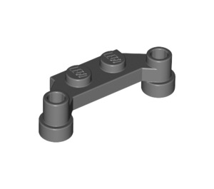 LEGO Plate 1 x 4 Offset (4590 / 18624 / 42505)