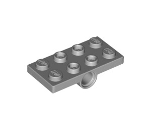LEGO Plate 2 x 4 with Two Sockets in Middle (26599)