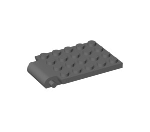 LEGO Plate 4 x 5 Trap Door Curved Hinge (30042)