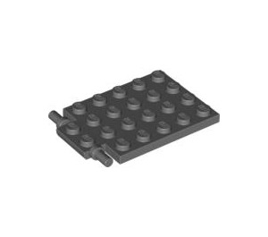 LEGO Plate 4 x 5 Trap Door Flat Hinge (92099)