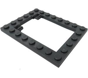 LEGO Plate 6 x 8 Trap Door Frame Flush Pin Holders (92107)