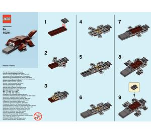 LEGO Platypus Set 40241 Instructions