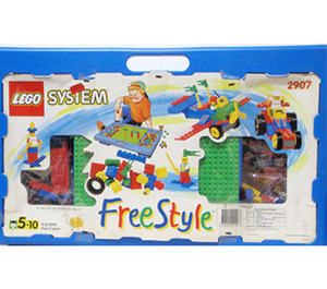 LEGO Play Desk Set, Blue Set 2907
