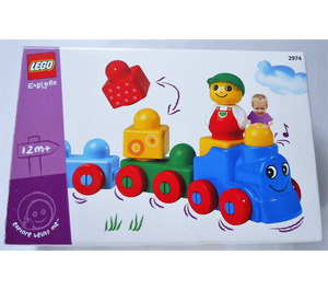 LEGO Play Train Set 2974 Packaging