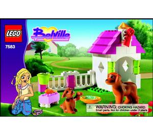 LEGO Playful Puppy Set 7583 Instructions