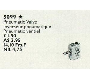 LEGO Pneumatic Valves Set 5099