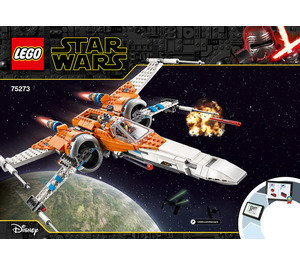 LEGO Poe Dameron's X-wing Fighter Set 75273 Instructions
