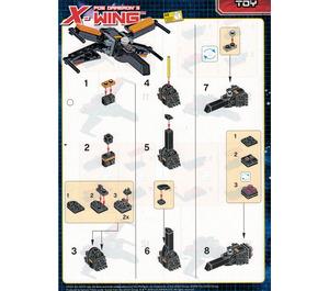 LEGO Poe Dameron's X-Wing Set 911841 Instructions