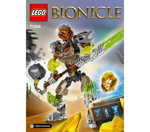 LEGO Pohatu - Uniter of Stone Set 71306 Instructions