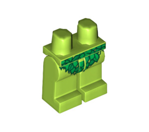 LEGO Poison Ivy with Lime Green Suit Legs (3815 / 73238)