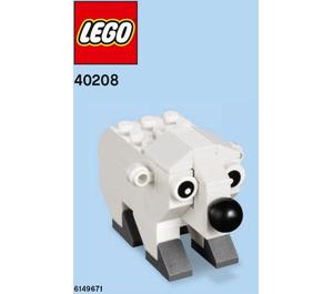 LEGO Polar Bear Set 40208