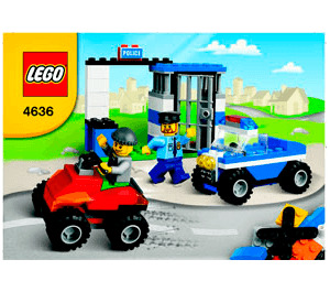 LEGO Police Building Set 4636 Instructions