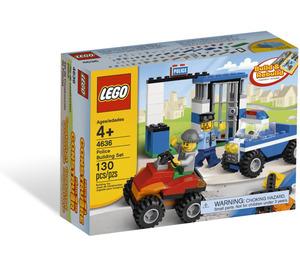 LEGO Police Building Set 4636 Packaging