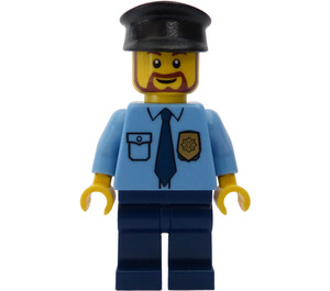 LEGO Police - Cap with blue tie and gold badge Minifigure