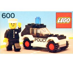 LEGO Police Car Set 600-2