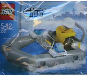 LEGO Police Dinghy Set 30011