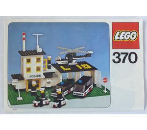 LEGO Police Headquarters Set 370 Instructions