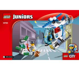 LEGO Police Helicopter Chase Set 10720 Instructions