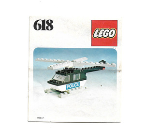 LEGO Police Helicopter Set 618 Instructions