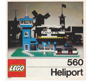 LEGO Police Heliport Set 560-2